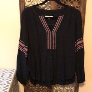 Loft Embroidered Adorable Top